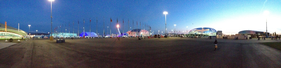 Sotschi 2014: Olympic Park